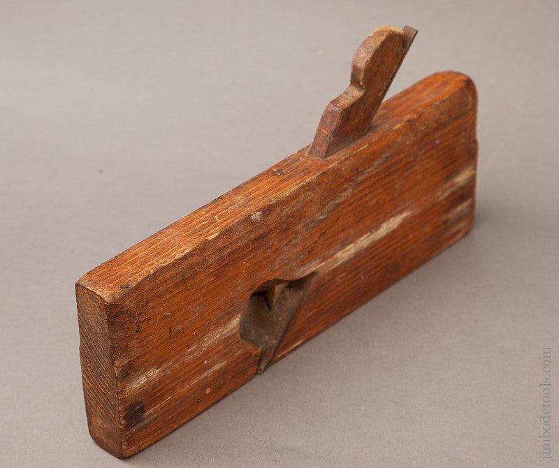 User One inch Skew Rabbet Plane by SARGENT New Hampshire circa 1840