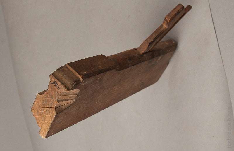 Crisp Ogee Molding Plane by PETER DUESING ANHOLT circa 1830-1927