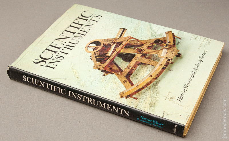 Book: SCIENTIFIC INSTRUMENTS By Harriet Wymter and Anthony Turner