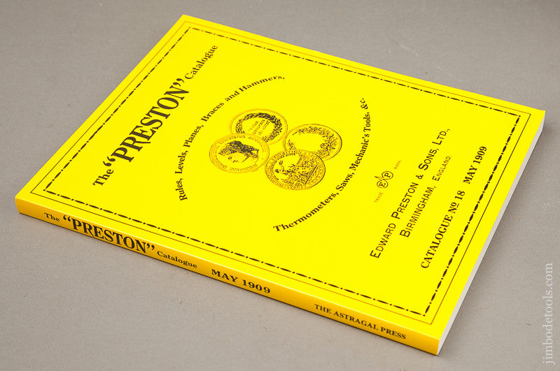 Nearly New Book:  THE PRESTON CATALOGUE No. 18 MAY 1909 Reprint