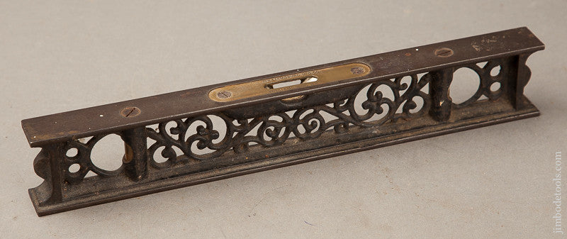 Clean and Fine! 12 inch Ornate Level by WILLIAMSBURG MFG CO