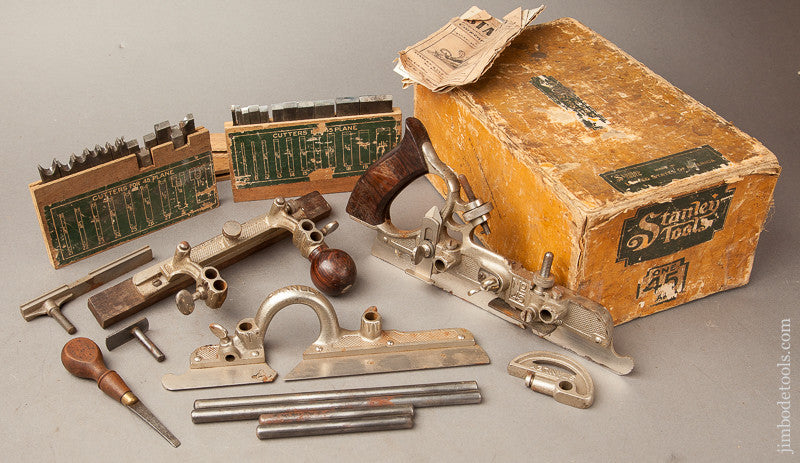 STANLEY No. 45 Combination Plane 100% COMPLETE in Original Box