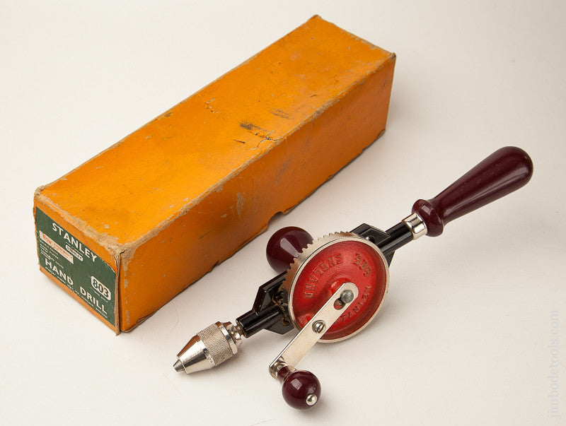 STANLEY No. 803 Hand Drill in Original Box