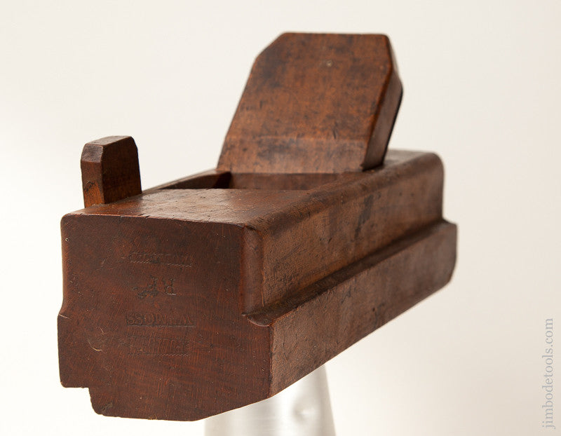 Extra Fine 18th Century WM. MOSS User Panel Raiser Plane with Lignum Boxing  BIRMINGHAM circa 1775-1843