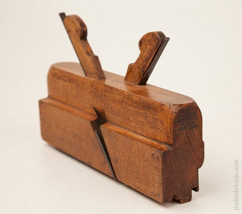 Coming & Going 1/2 inch Tongue & Groove Plane by J. COLTON Philadelphia, PA circa 1837-60 FINE