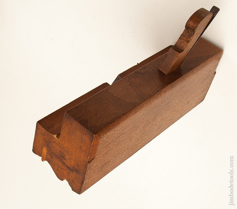 Crisp 2 3/4 inch Wide Complex Moulding Plane by ATKIN & SON LATE MOSS circa 1845 NEAR MINT