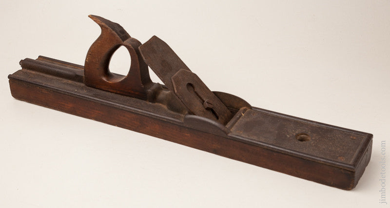 Rare! WORRALL'S May 27, 1856 PATENT 22 inch Jointer Plane by LOWELL PLANE & TOOL CO. circa 1856-58 Lowell, MA
