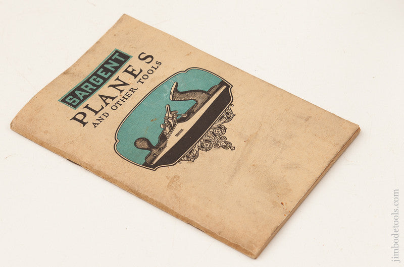 Rare 1915 SARGENT Planes Catalogue