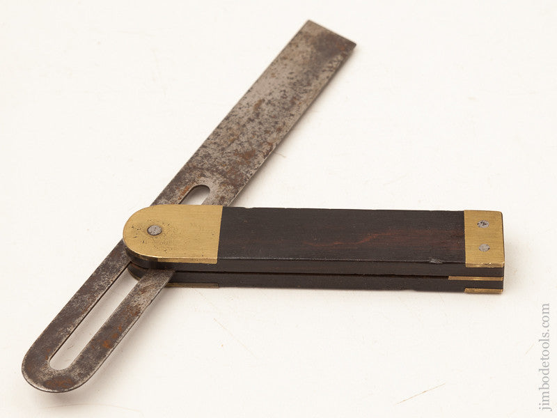 Crisp 8 inch Rosewood and Brass Bevel