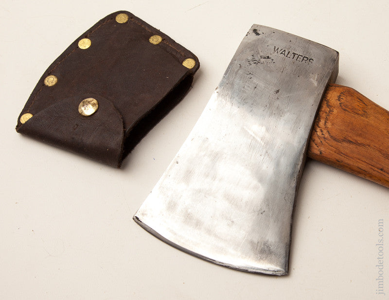 3 pound WALTERS Axe with Leather Sheath