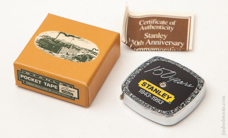 STANLEY 150th Anniversary Pocket Tape Measure MINT in its Original Box