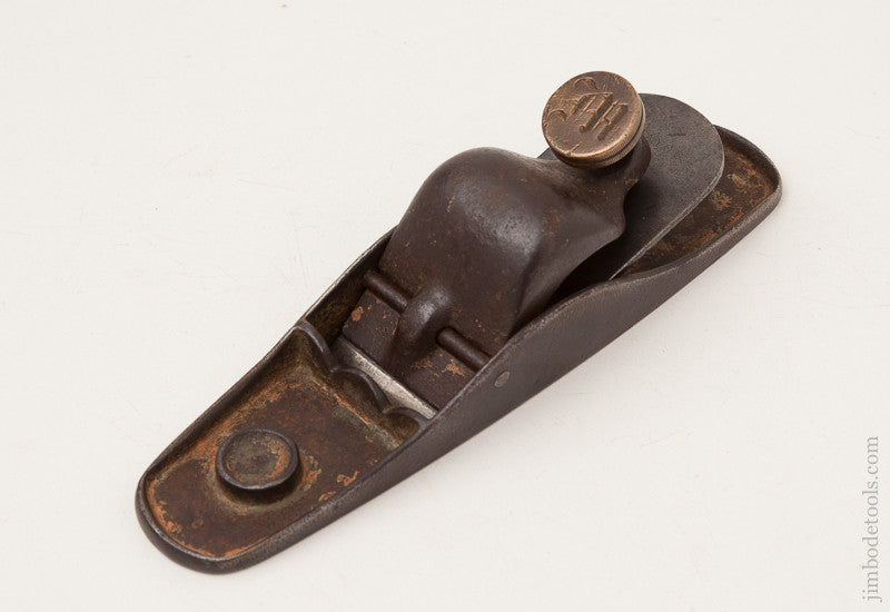 Rare! MAYO's Patent Block Plane by BABSON & REPPELIER BOSTON