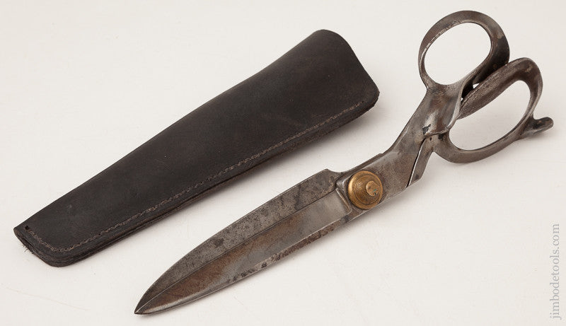 12 inch WISS Tailor's Shears in Leather Sheath