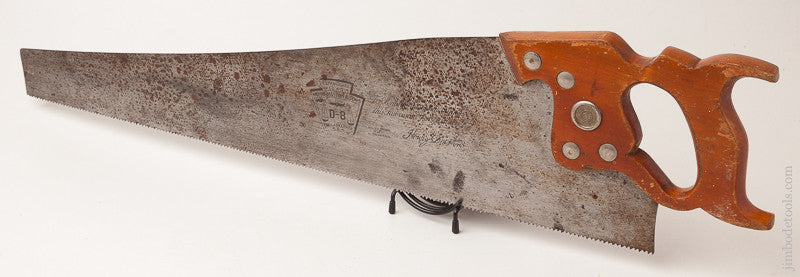 8 point 26 inch Crosscut DISSTON D8 Hand Saw