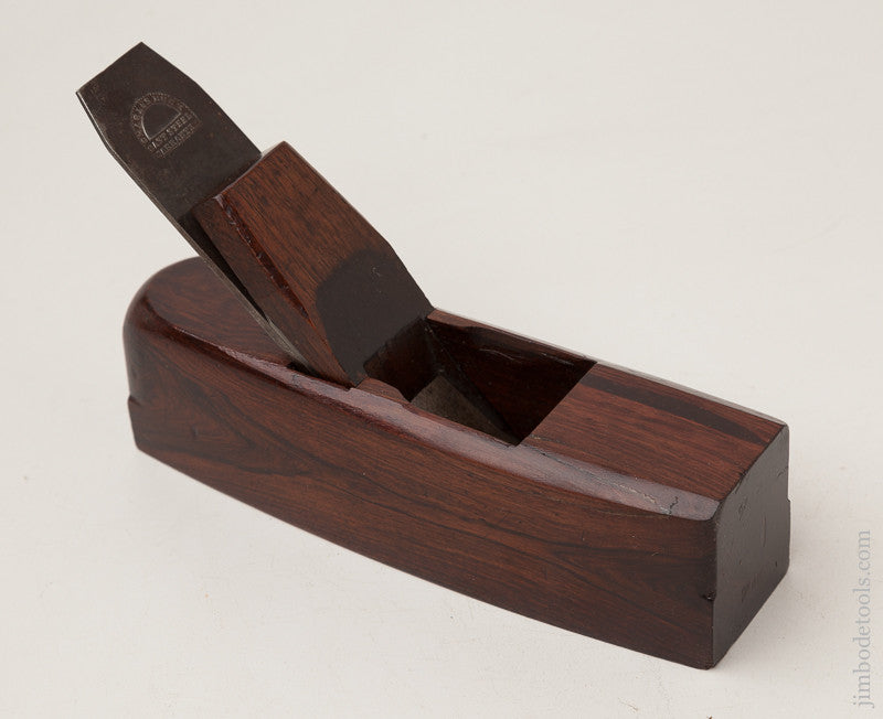 Crisp and Fine! Rosewood Smooth Plane