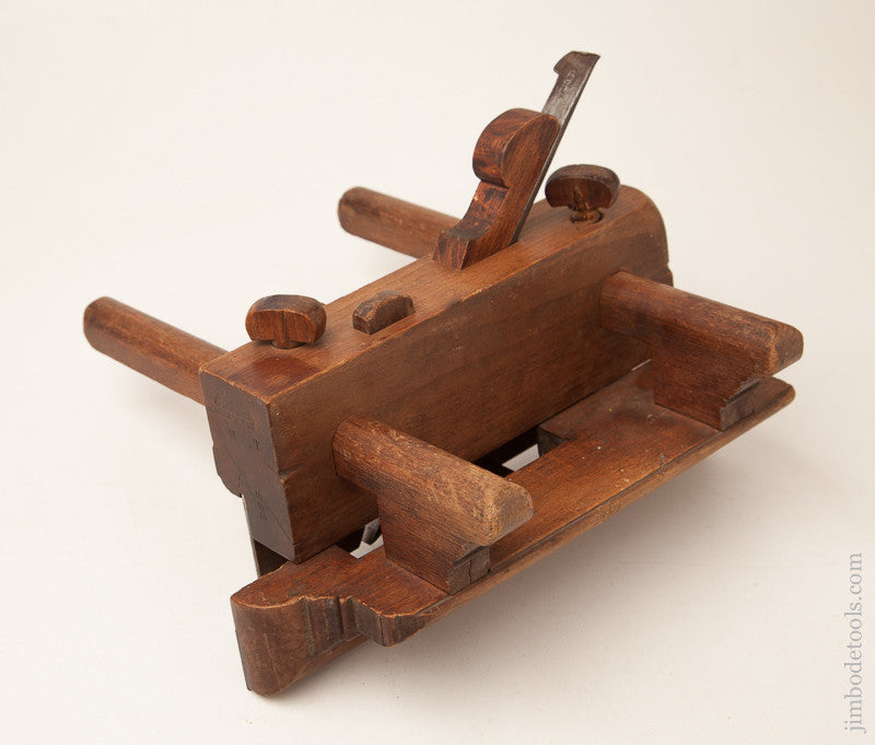 Beech Plow Plane by N. CHAPIN & CO EAGLE FACTORY circa 1838-1850 EXTRA FINE