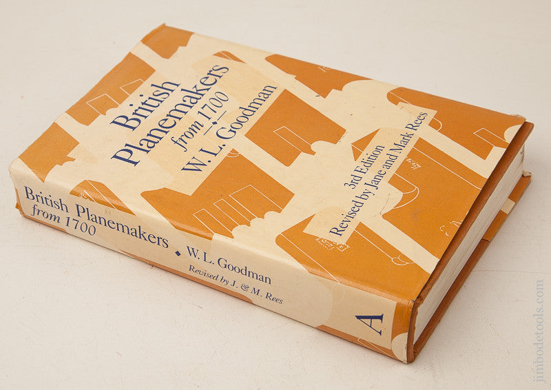 Book:  BRITISH PLANEMAKERS FROM 1700 by W.L. Goodman 3rd Edition