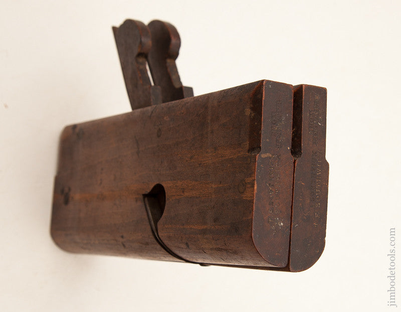Side Round Moulding Planes by W.I. WALKER YORK circa 1818-67 EXTRA FINE