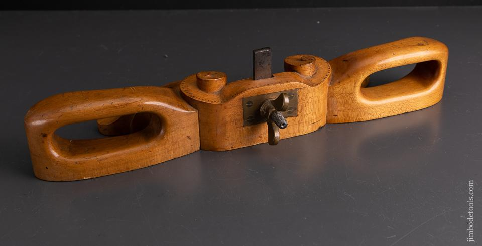Incredible! Carved 19th Century Router Plane - EXCALIBUR 50