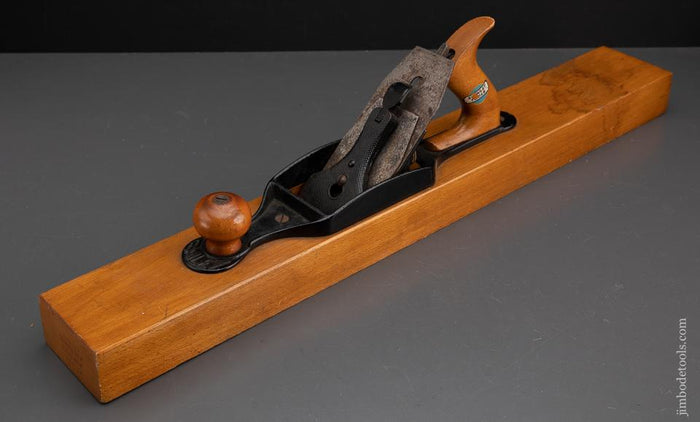 Magnificent STANLEY No. 32 Transitional Jointer Plane Near Mint with decal - EXCALIBUR 52