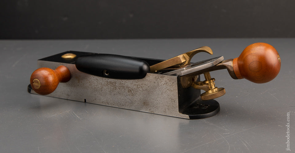 LIE-NIELSEN No. 9 Miter Plane with Hot Dog and Side Handles. - 83586
