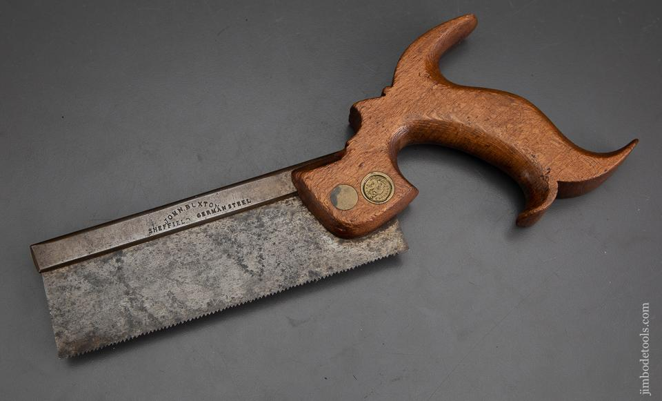Very Rare! JOHN BUXTON Six inch Dovetail Saw - EXCALIBUR 55