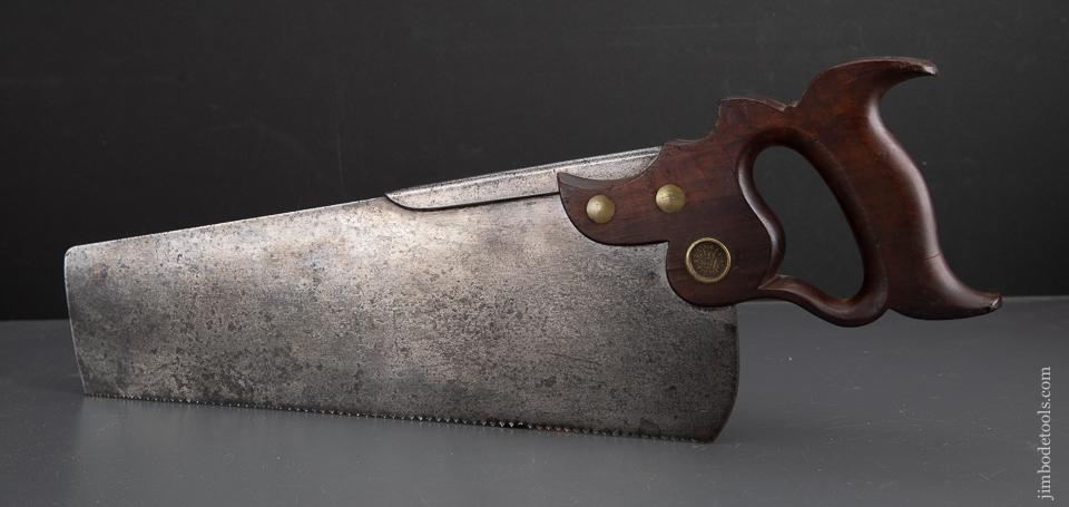Rare DISSTON No. 8 Half Back Saw - EXCALIBUR 57