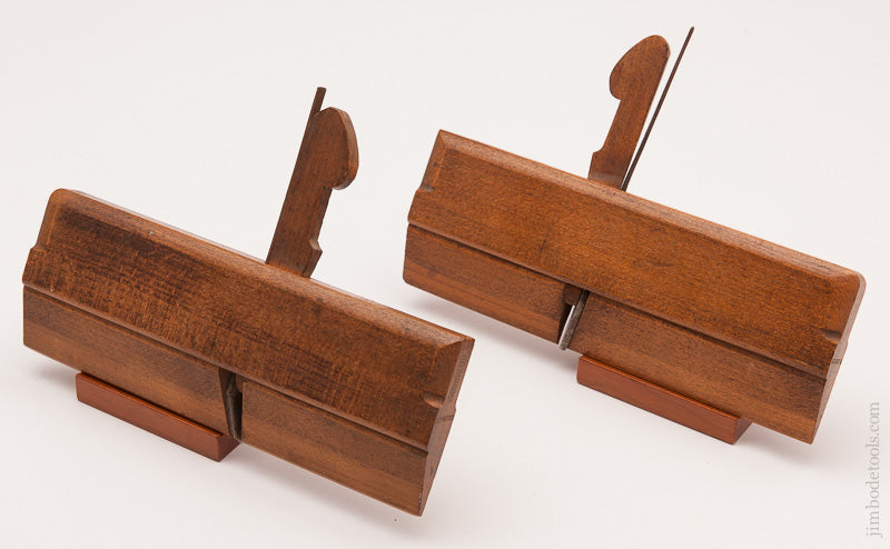 Extra-Fine Set of Side Rabbet Planes by HEATHCOTT SHEFFIELD circa 1829-49 - 59473