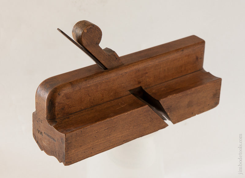 Beautiful 2 3/8 inch Wide Moulding Plane by WHEELER Thatcham circa 1760-1780 - 60939R