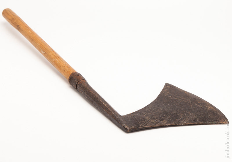 Early French Double Bevel Hewing Axe - 61178
