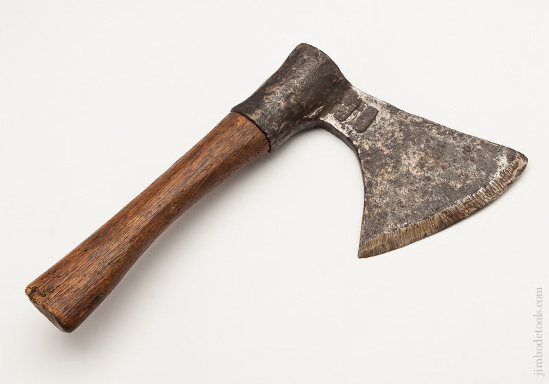 Graphic 18th C 12 x 7 French Side Axe with 5 1/4 inch Edge - 61554R