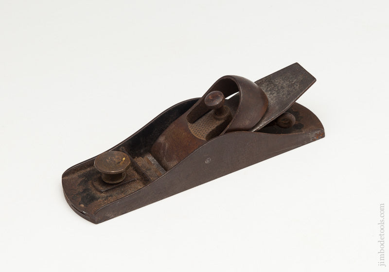 BAILEY WOONSOCKET No. F Patented Block Plane with Original Iron - 61917
