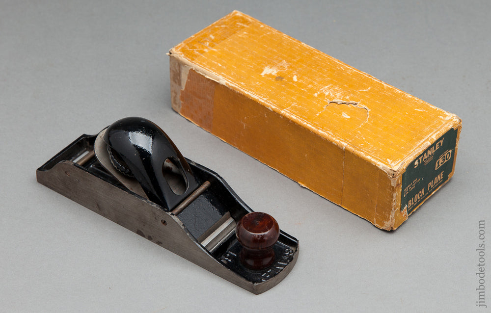 STANLEY NO. 130 Block Plane in its Original Box - 62550R