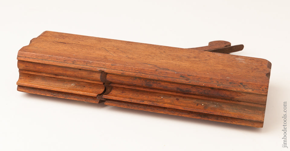 MINT! Ten inch Yellow Birch 8/8 inch Molding Plane by A' SMITH REHOBOTH circa 1791-1823 - 62629U