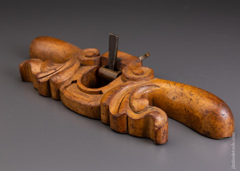 Beautifully Carved Router Plane - 63565