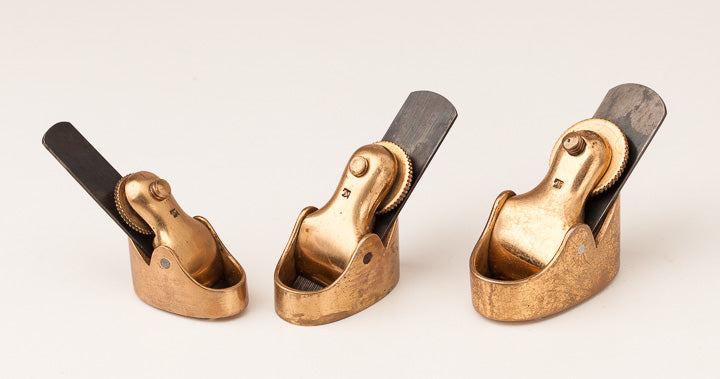 Graduated Set of Three NORRIS Violinmaker's Planes - 63694U