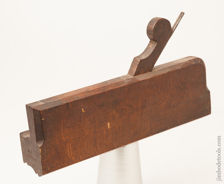 "Eighteenth Century 9 7/8"" Molding Plane by GEO. CARPENTER LONDON circa 1734 -- 64231R"