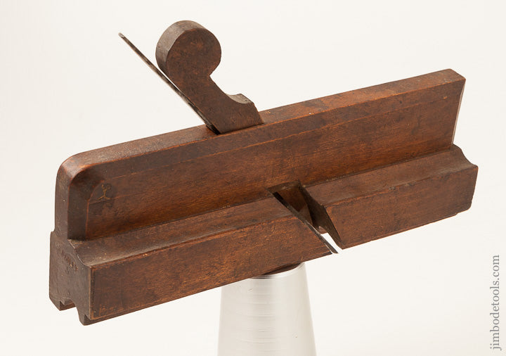 "GEORGE CARPENTER 18th Century 10"" Astragal Moulding Plane circa 1734 London - 64242R"