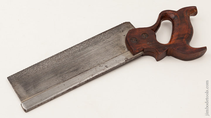 Just Sharpened! 14 point 10 inch Crosscut HENRY DISSTON & SONS No. 4 Back Saw with 1896-1917 Medallion - 65568