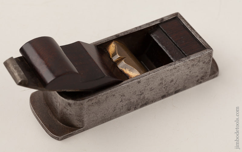 RARE Miniature NORRIS No. 11 Miter Plane with Original 1 1/2 inch BUCK & RYAN Snecked Iron - 66598U