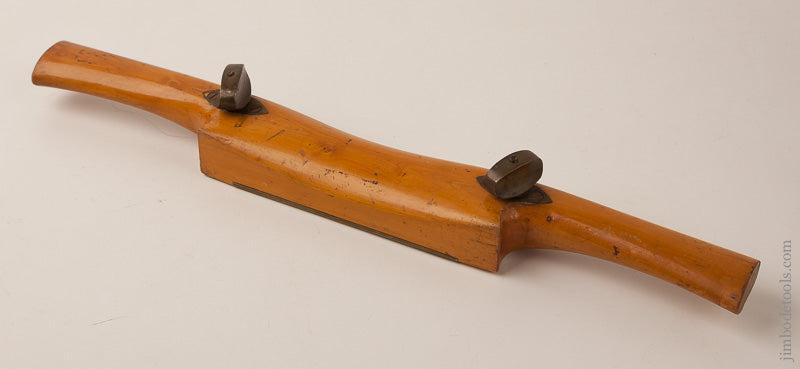 Monster! 19 inch Boxwood Adjustable Spoke Shave by D. FLATHER & SONS SOLLY WORKS SHEFFIELD - 67033