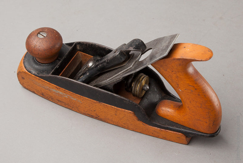 Extra-Fine STANLEY No. 35 Transitional Smooth Plane Type 5 ca. 1872-74 - 67761R