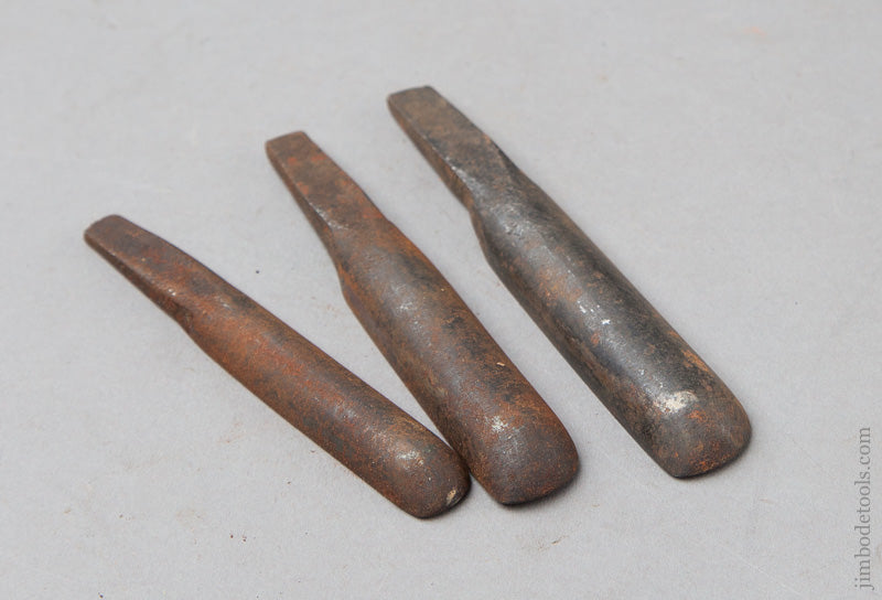 Set of Three 18th Century Chairmaker's Spoon Bits by GLASCOTT - 67770R