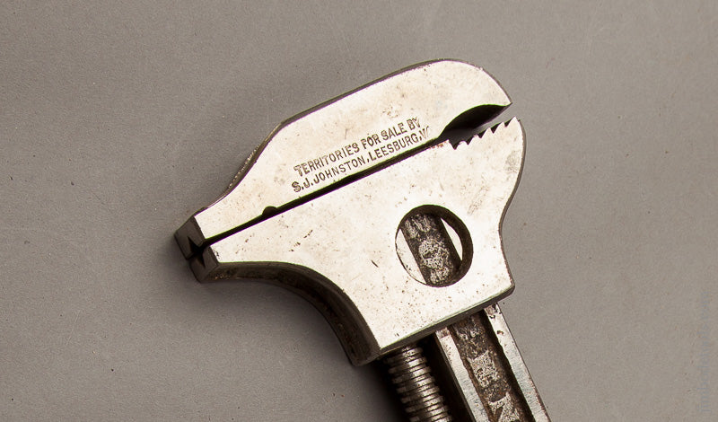 Minty JOHNSTON May 21, 1901 PATENT Combination Tool Brace Wrench by LOWENTRAUT MFG. CO. - 67791R