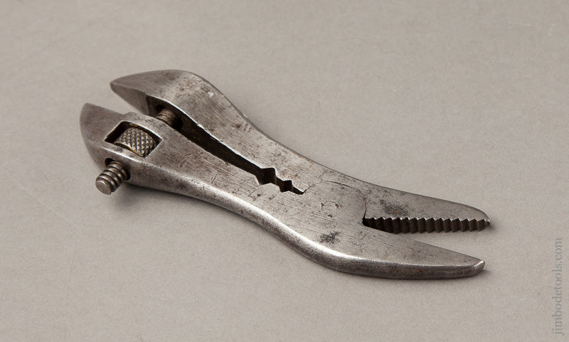 Awesome and Rare! Five inch STANLEY TRIPLET Adjustable Wrench - 67952R