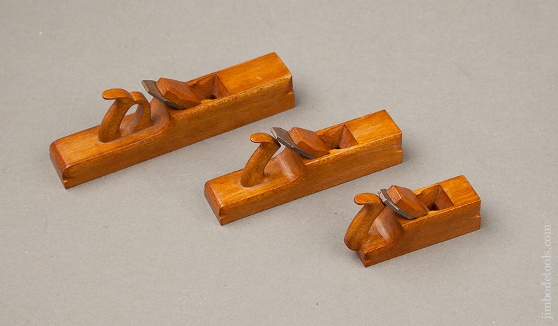 Three Miniature Bench Planes! - 68906U
