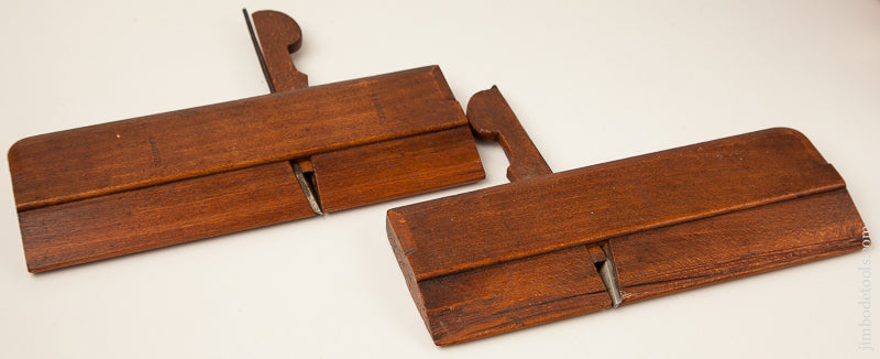 Nice Pair of Side Rabbet Moulding Planes J.V. HILL, GRAYS INN ROAD circa 1867-1905 - 69687