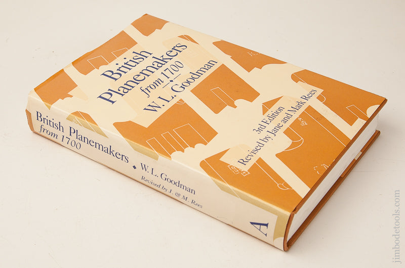 Book:  BRITISH PLANEMAKERS FROM 1700 by W.L. Goodman - 70790
