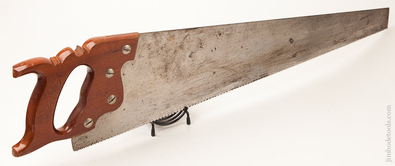 Crisp, Sticky sharp! 10 point 26 inch ATKINS No. 65 Crosscut Hand Saw - 71433