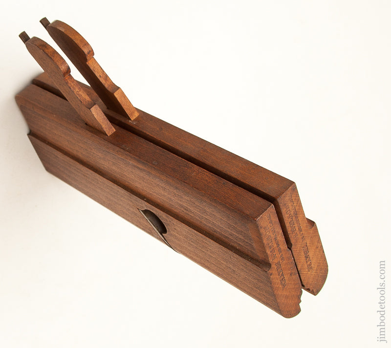 Mint & Unused! Side Round Moulding Planes by R. NELSON 122 EDGEWARE ROAD LONDON circa 1831-82 NEW OLD STOCK - 71590U
